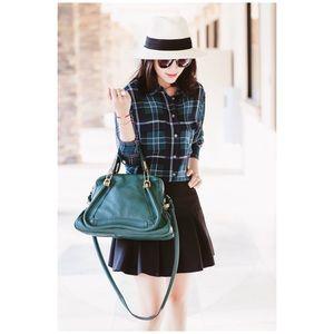 Authentic Chloe Medium Shoulder Bag Satchel